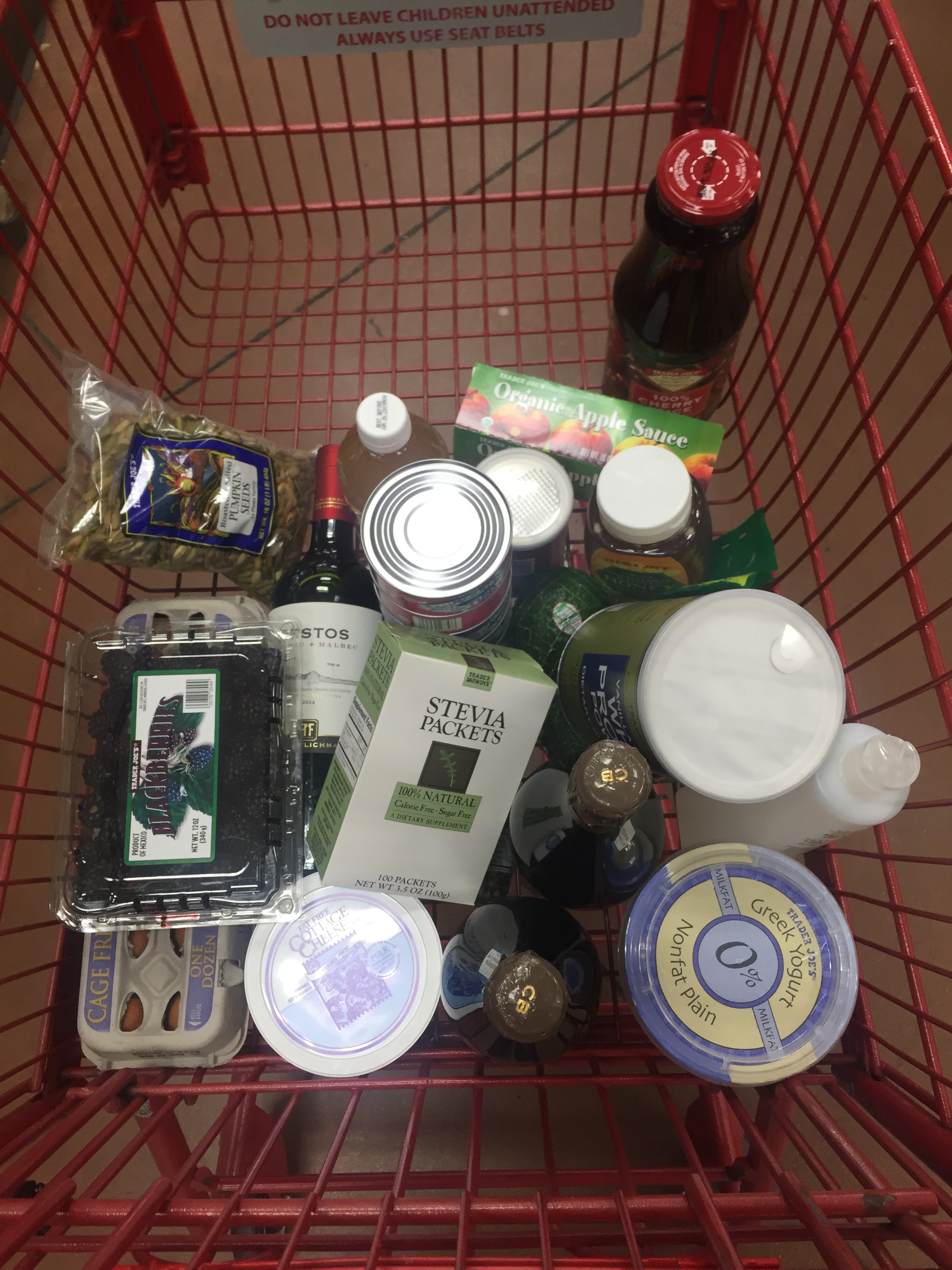 Shopping Cart Groceries