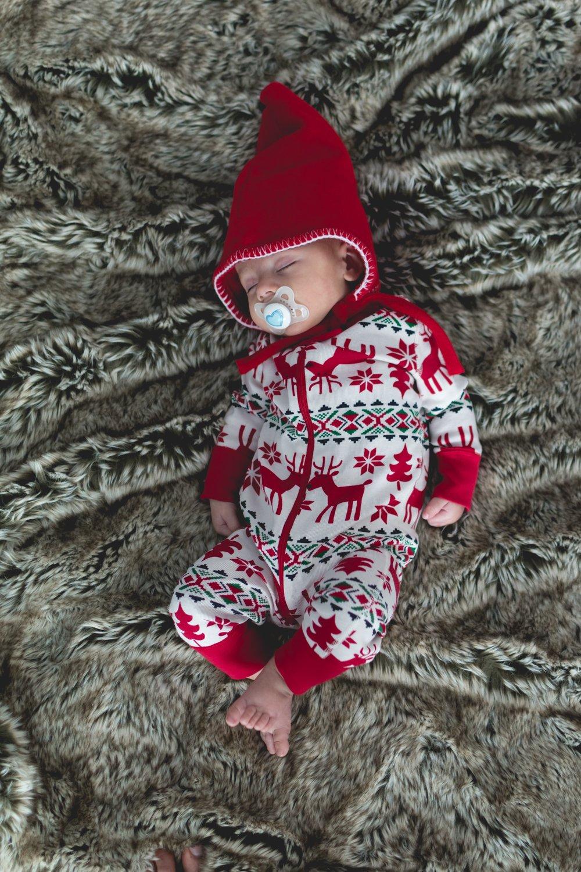 Taking a Christmas nap