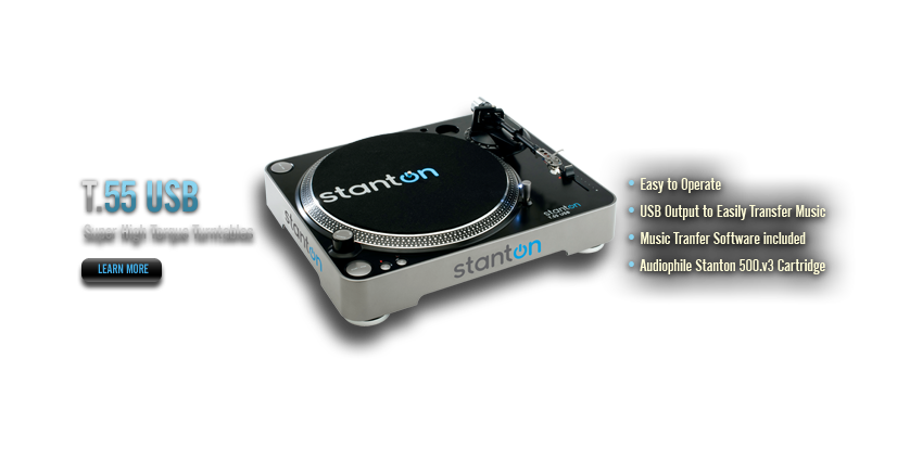NEW Stanton Turntables