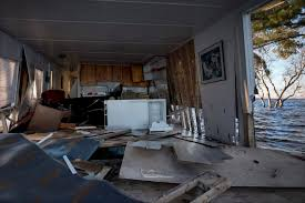 An example of the flood's devastation on a cottage. Photo Credit: Toronto Star