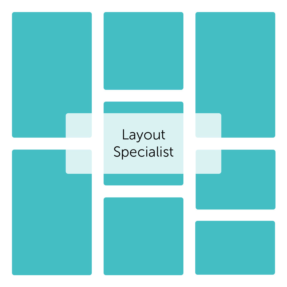 Layout - Got grids? Some of my favorite projects are catalogs and brochures. Click through to see some of my favorite layout projects.