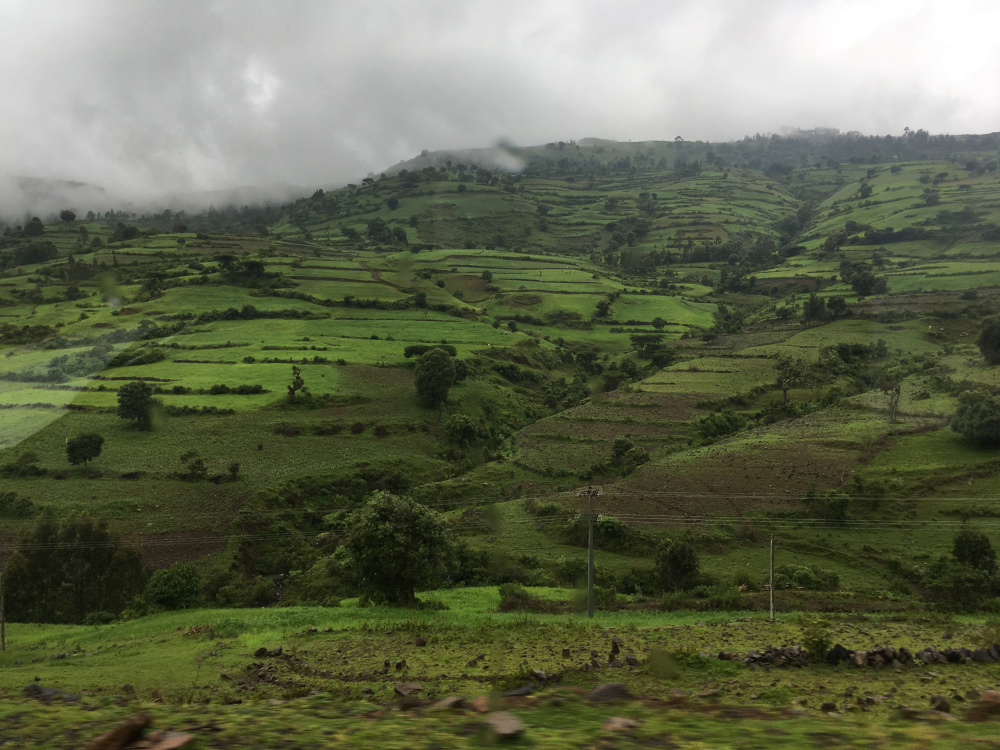 The hills north of Gondar