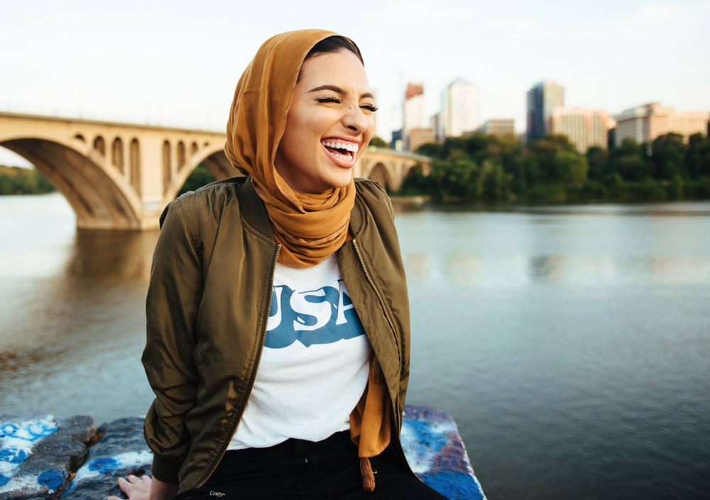 Noor Tagouri with Sounds Good Breaking the Glass Ceiling With a Hijab Muslim Storytelling Television Podcast Interview