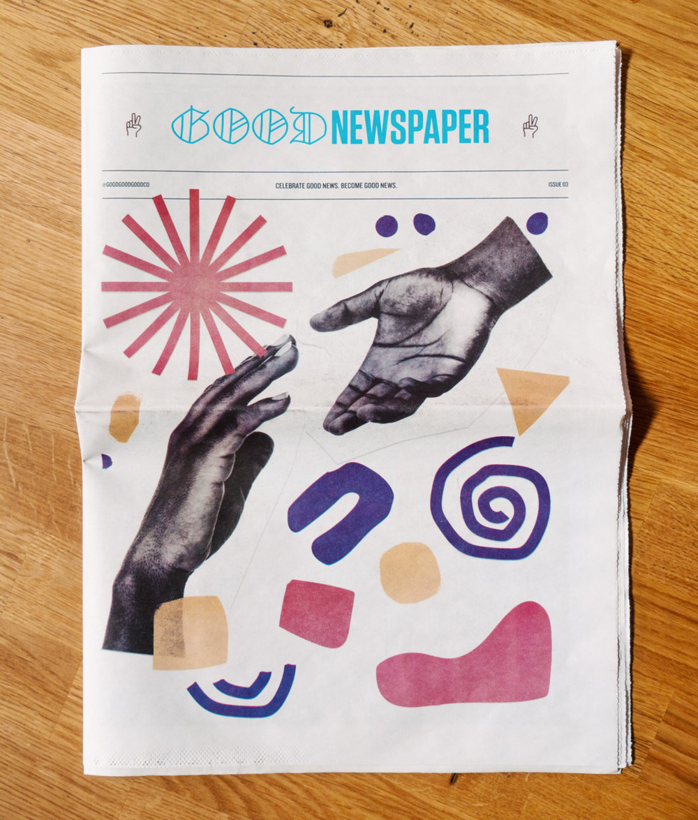 Goodnewspaper Issue 03 at Good Good Good with Branden Harvey interview with Ilwad Elman