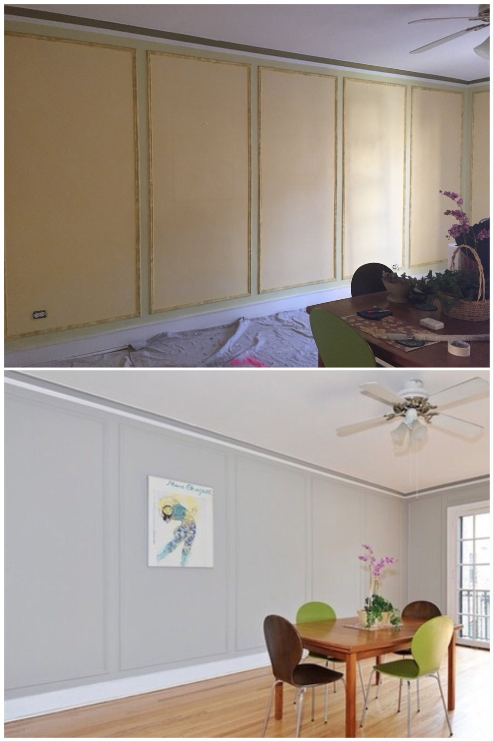 Picture Framing - Before and After