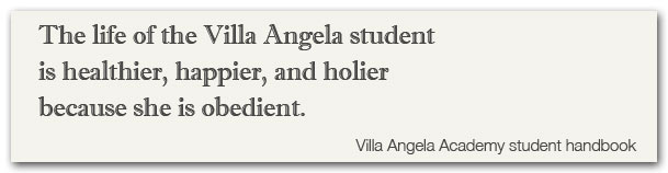 Villa Angela Handbook quote 1