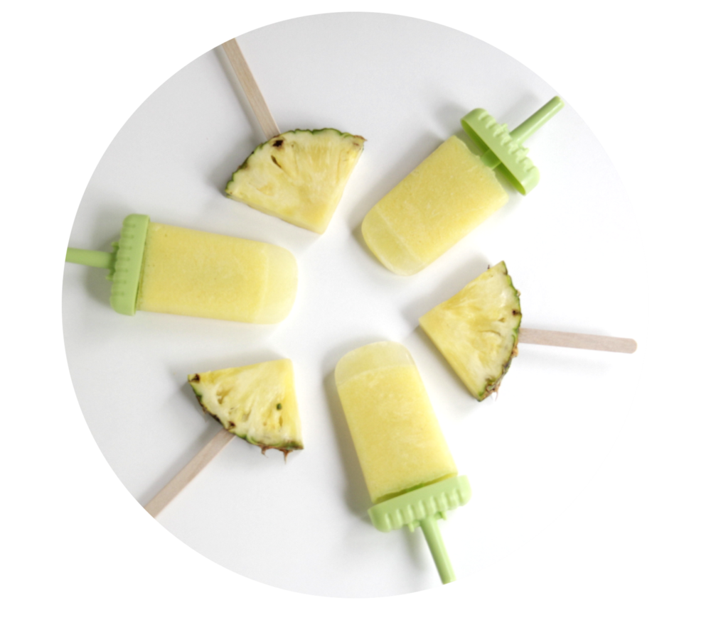 Pineapple Popsicles