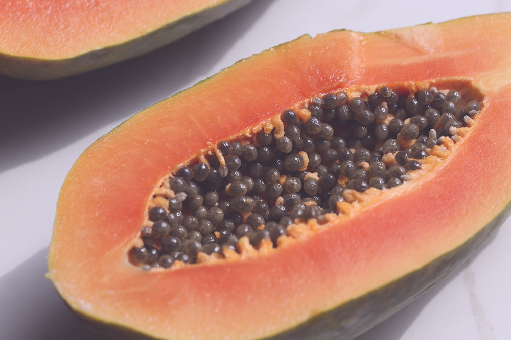 Papaya, my favorite breakfast meal.