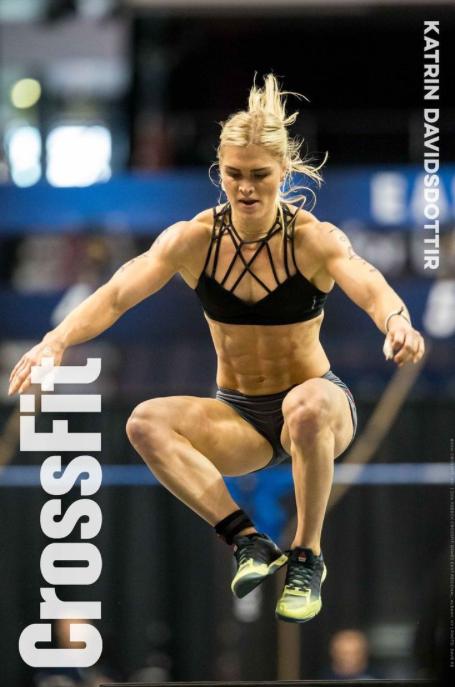 Katrin Davidsdottir.CrossFit Games Champion 2015, 2016.