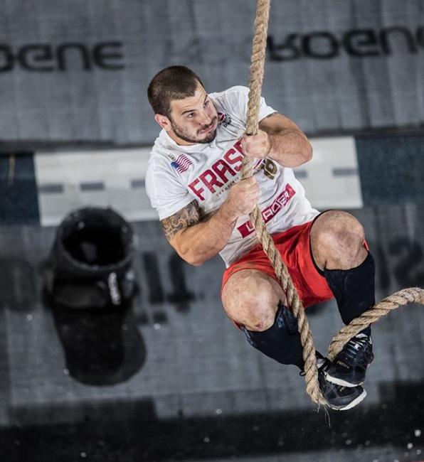 Mat Fraser. 2107 CrossFit Games Champion