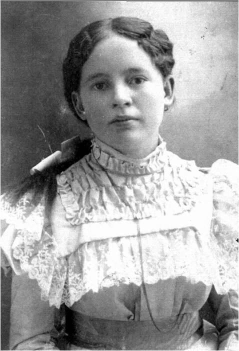 My great-grandmother Theresa Hope Goodman (Tressa was named after her)