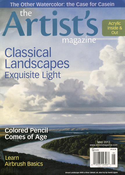 Artists Magazine May Cover