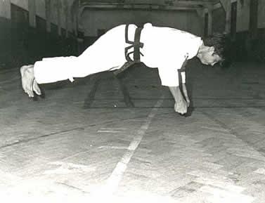 Jumping Press-ups c 1978