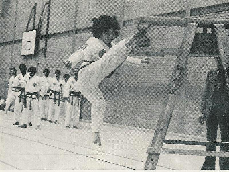 Jumping Turning Kick c 1982