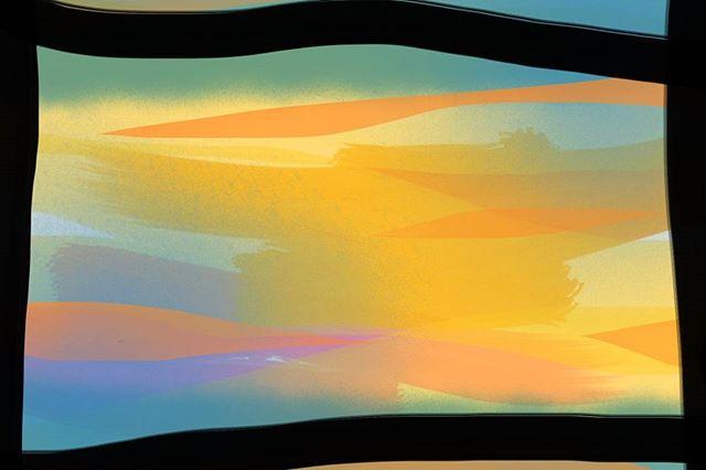 ⏹️ . . . .#sketchoftheday #dailydoodle #abstractart #digitalpainting #procreate #colourstudy