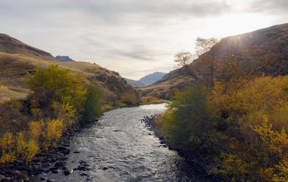 Imnaha River Trail Bridge