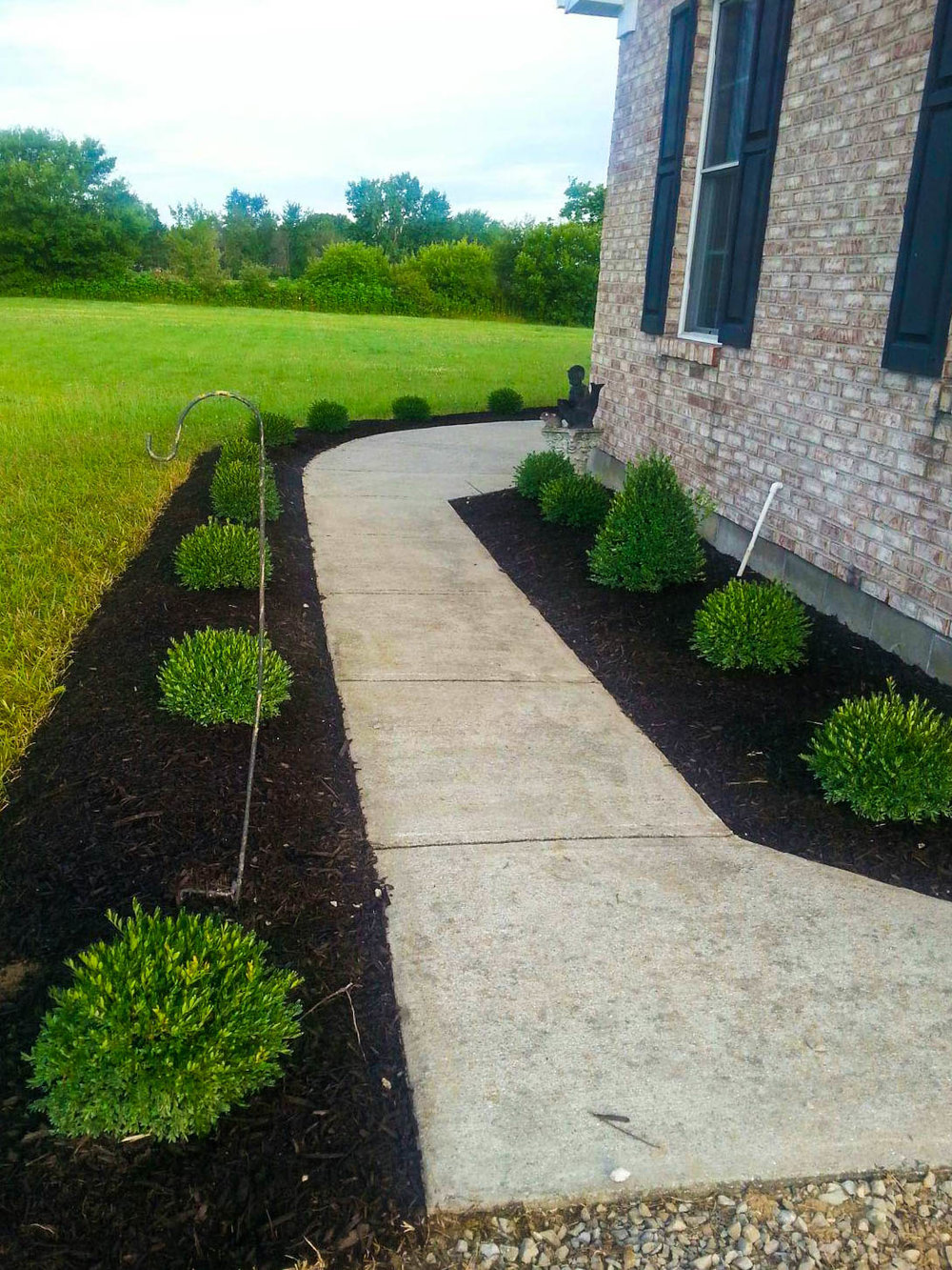 Landscape Design in Fishers, Indiana.