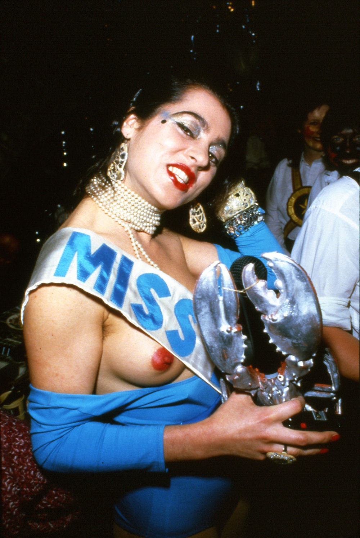 Luciana Martinez de la Rosa, 1978 Photograph:Robyn Beeche