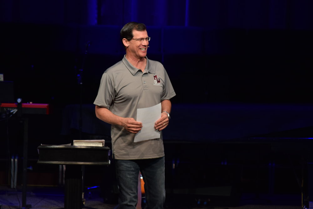 Application-Oriented Messages with Lead Pastor, Ed Kemp