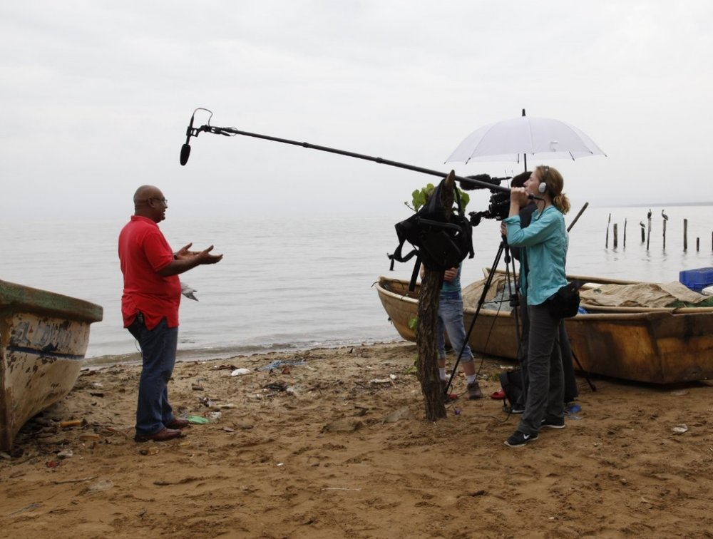 Filming in the Dominican Republic