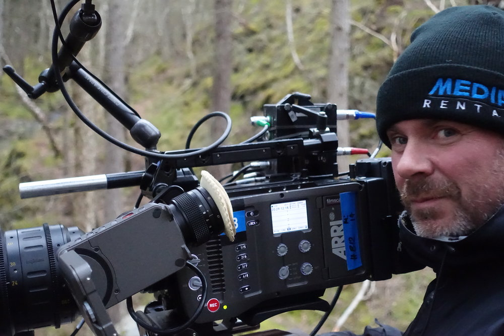 Shooting in the woods with DP August Jakobson IKS and Arri Cameras
