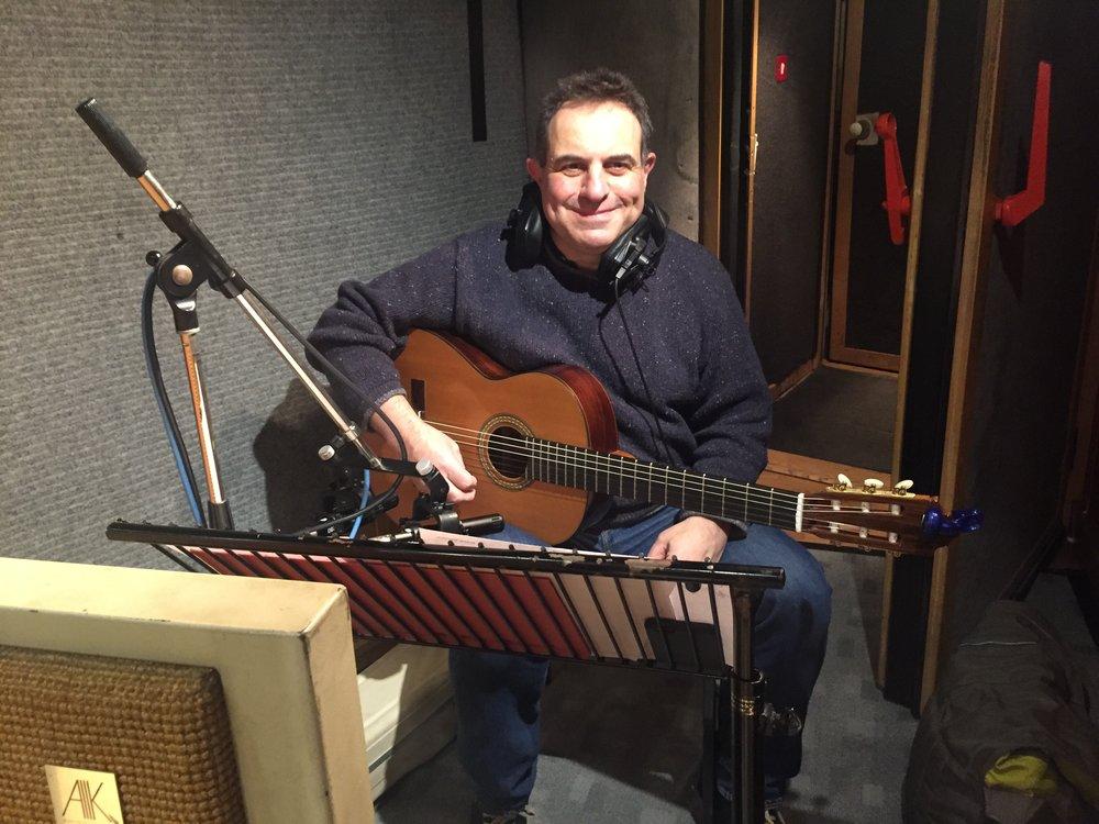 Guitarist John Parricelli