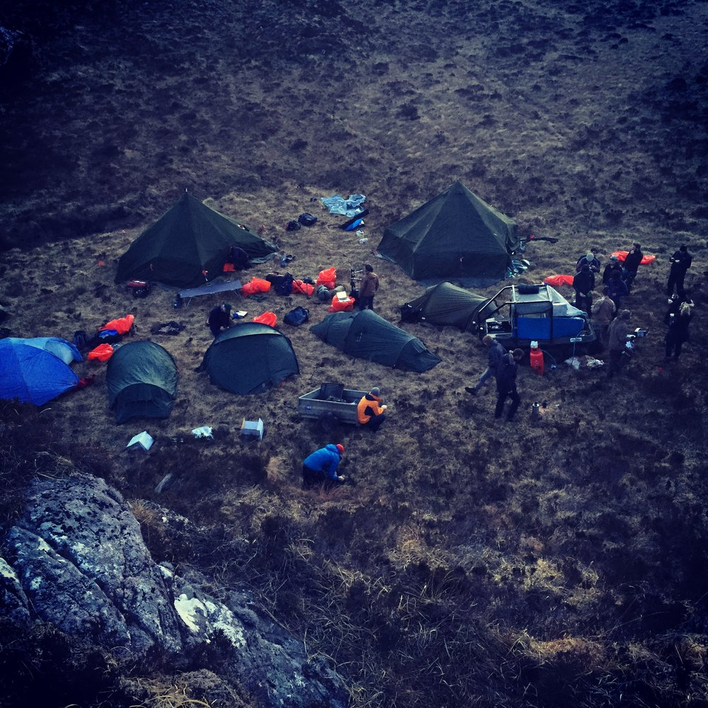 The Edie crew spent two nights camping out in the wilds of Assynt