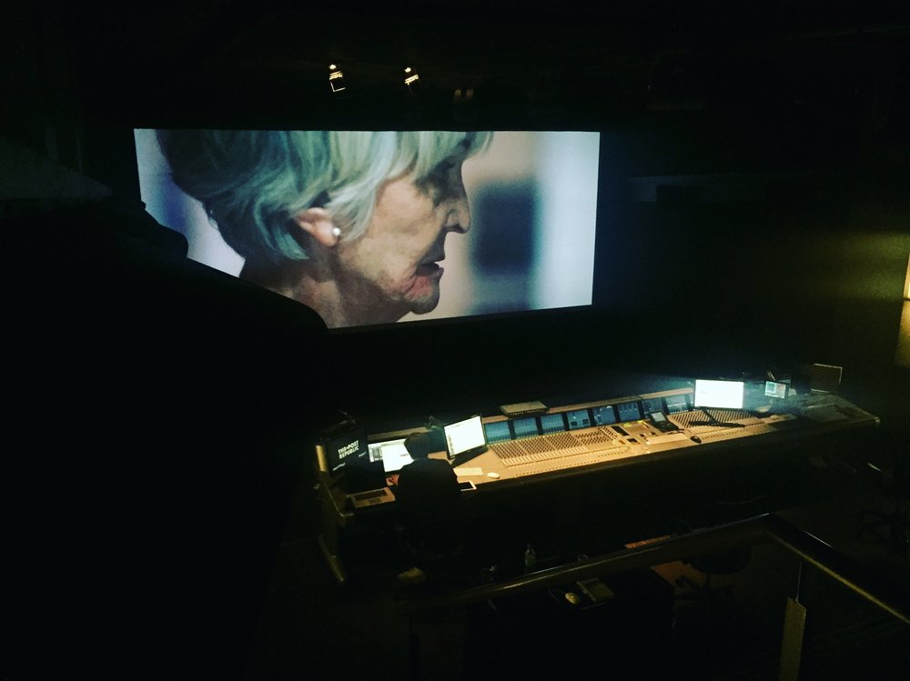 Sound mixing EDIE in Dolby Atmos at Post Republic in Berlin, Germany