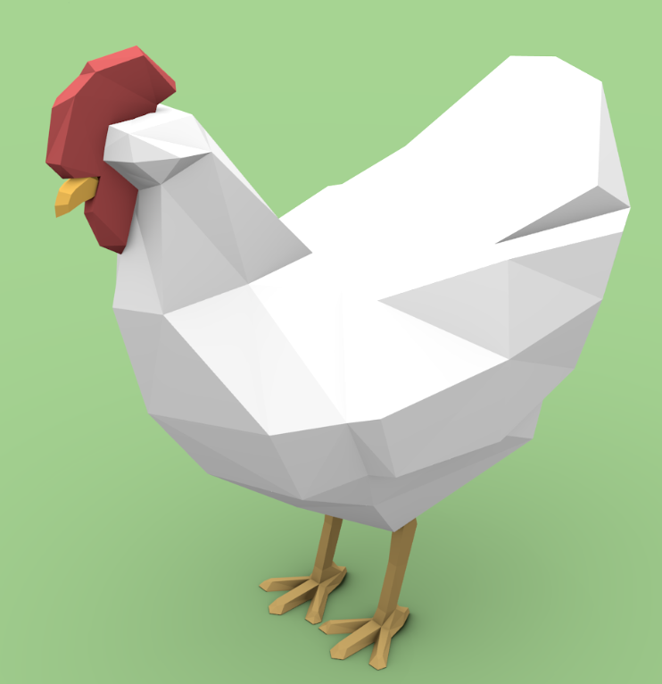 I mentioned a chicken, so why not include a image of my chicken?
