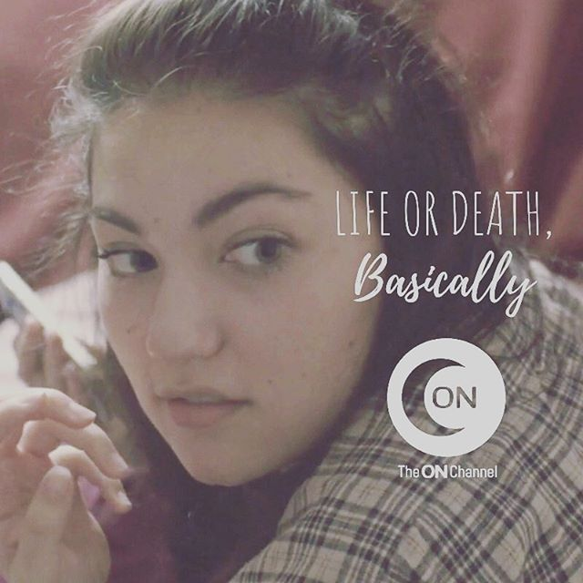 the face we make when you say you haven't watched @lifeordeathbasically yet. 😟 what are you even doing? . here's what you're missing: your new favorite tv couple, truthful and compassionate representation of mental illness, killer performances by an incredible cast, amazing original music, and oh yeah, laughter. and tears, maybe. the good kind. . if you want to fall in love - Life or Death, Basically is available to stream on @vimeo, our website, and new subscription-based streaming service @theonchannel (get in on this now!). link in bio. it's less than 15 minutes per episode. you have time. do it! . #lifeordeathbasically