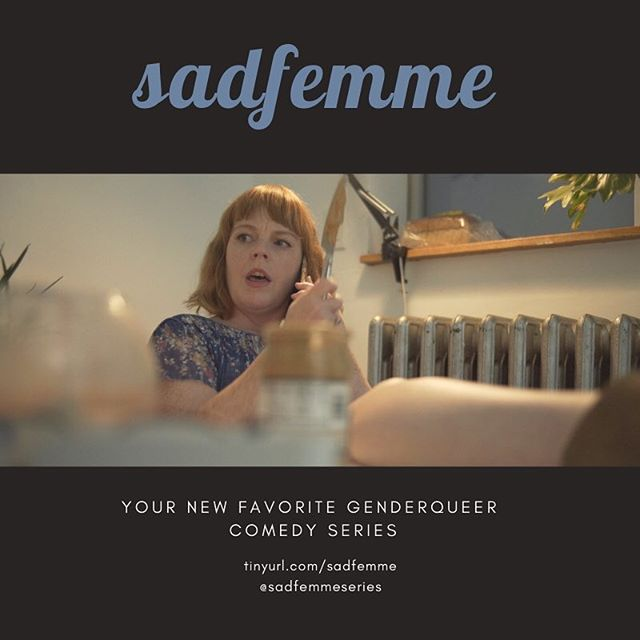 how dare you interrupt her peanut butter-eating.  #sadfemmeseries coming soon.