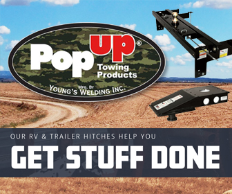 When you're pulling your business around town, don't trust anything but the best! Visit http://www.popuphitch.com to see why we use Pop Up Towing Products!