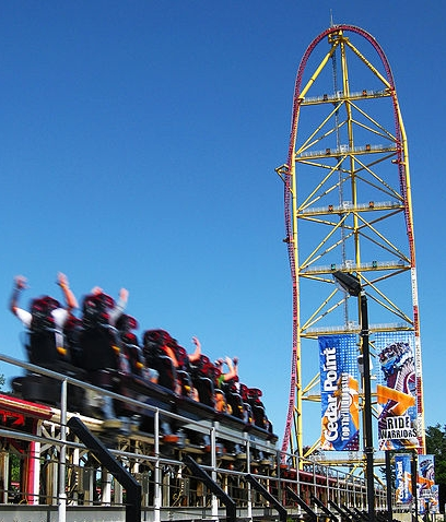 Top Thrill Dragster: Second Tallest Roller Coaster in the World