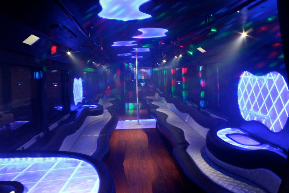 50 Passenger Party Bus Right