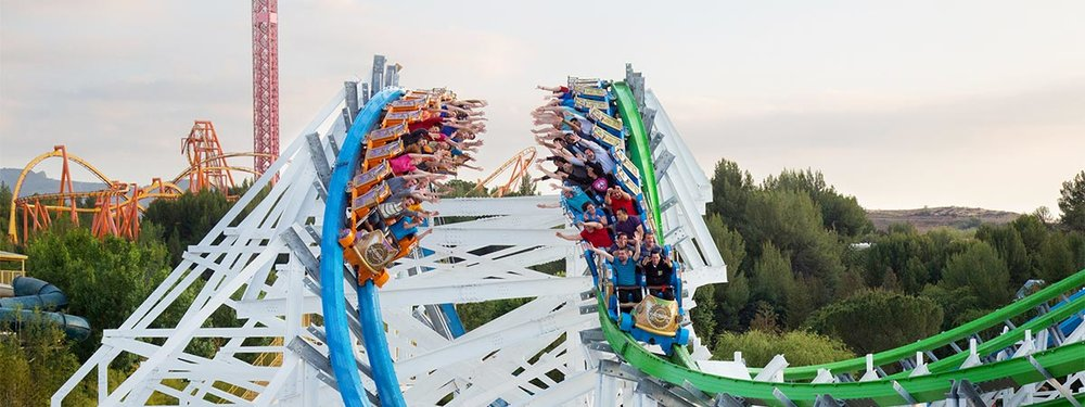 six flags magic mountain valencia attraction