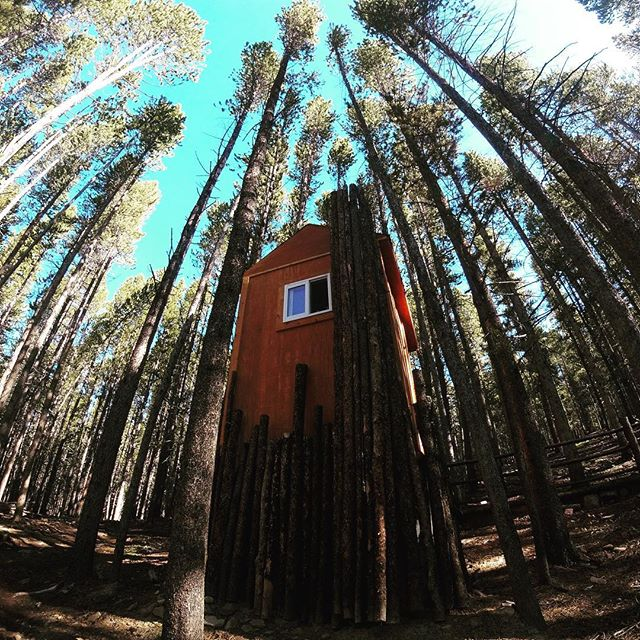 This is the poshest composting toilet I've ever seen in the backcountry! #pronetowander #tennesseepass #yurtlife #backcountry #exploreeverything #andimeaneverything #womenwhohike #travelmemoir #visitcolorado #leadville #toiletsofinstagram #myastheniagravisstrong #thisis40something #hikecolorado #tennesseepasscookhouse #yurtlife