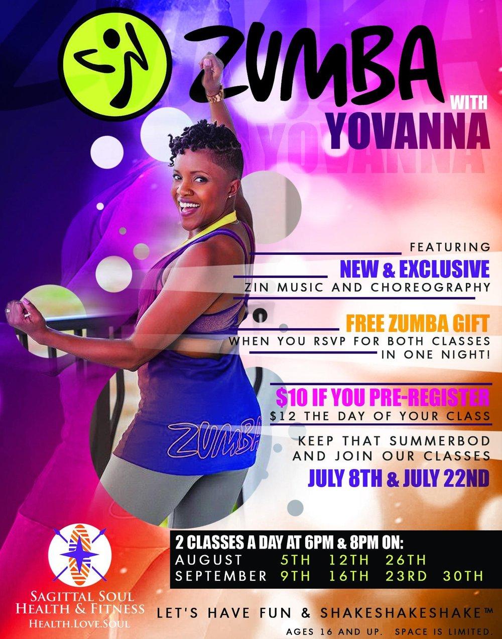 Zumba® with Yovanna Master Class