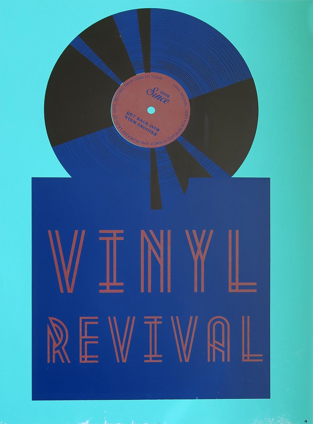 Emalis Robateau  Vinyl Revival / Spring 2014