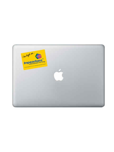 IMPEACHARA® STICKER - yellow (benefits Planned Parenthood)