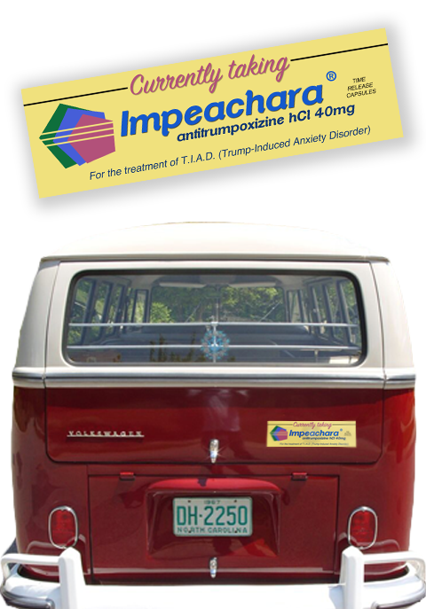 IMPEACHARA® BUMPER STICKER
