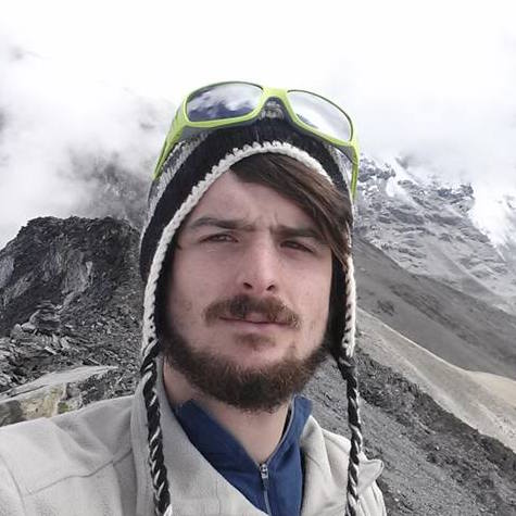 Ryan in the Himalayas, Nepal