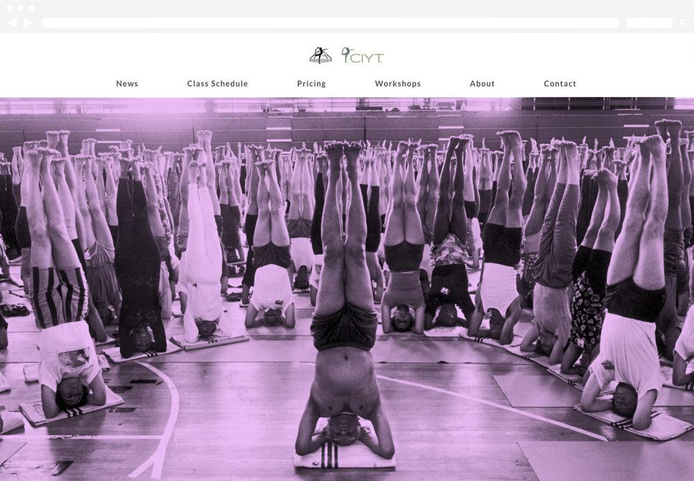 Iyengar Yoga Boris Jovanovic Website Design