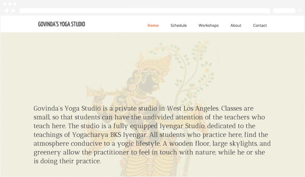 Govindas Yoga Studio