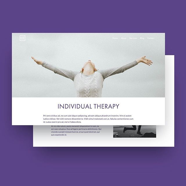 Newest Squarespace theme for therapists.  Check  out live version: bit.ly/violet-bloom ... #websites #webdesign #webdesigner #websitedesign #squarespace #designers #designideas #ui #ux #uiux #uidesign #uidesigner #uxdesign #uxdesigner #minimaldesign #userexperience  #uiinspiration #responsive #uitrends #digitaldesign #yogawebsite #yoga #wellnesswebsite
