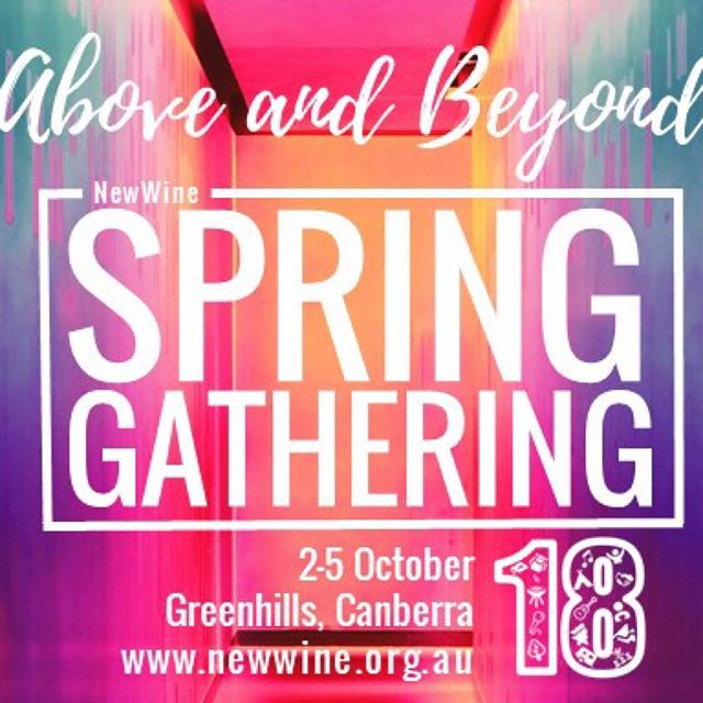 What a great line up of Bible teachers for the New Wine Spring Gathering!!! Have you registered yet? Camping and Ensuite Accomodation available as well as Day Passes. www.newwine.org.au #nwsg18