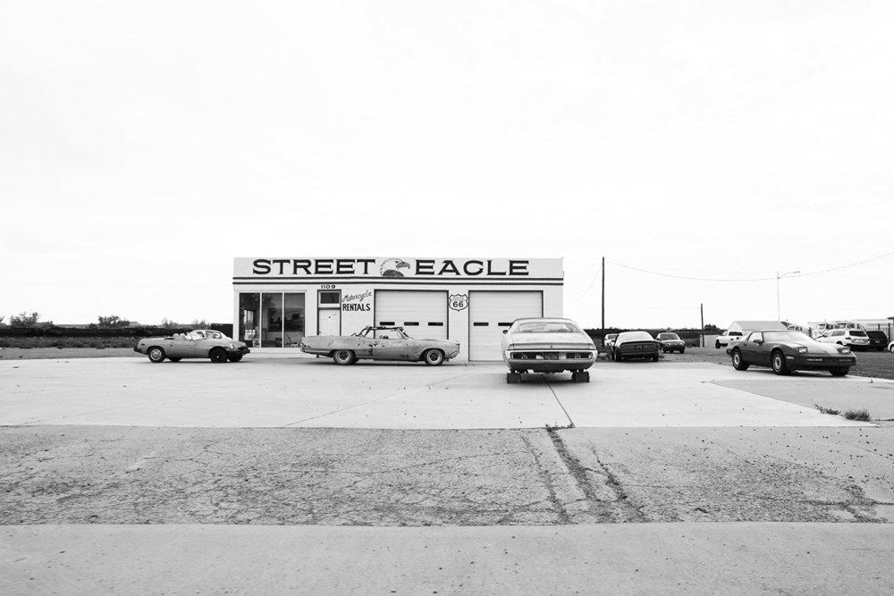 Street Eagle Route 66