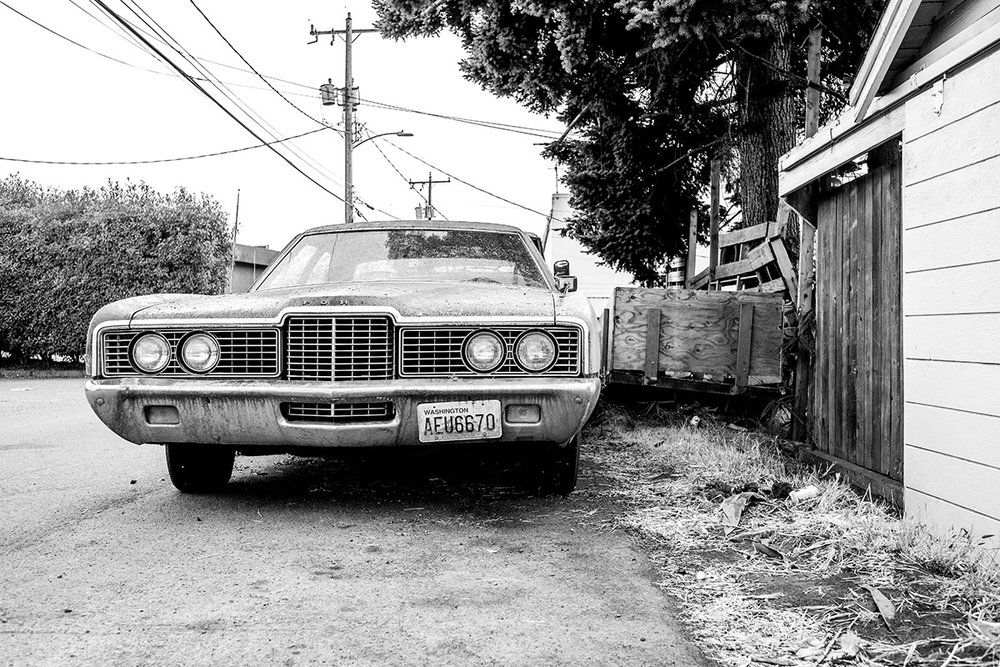 1972 Ford LTD, Seattle, Washington, WA, United States by Leica Photographer Manuel Guerzoni in San Francisco
