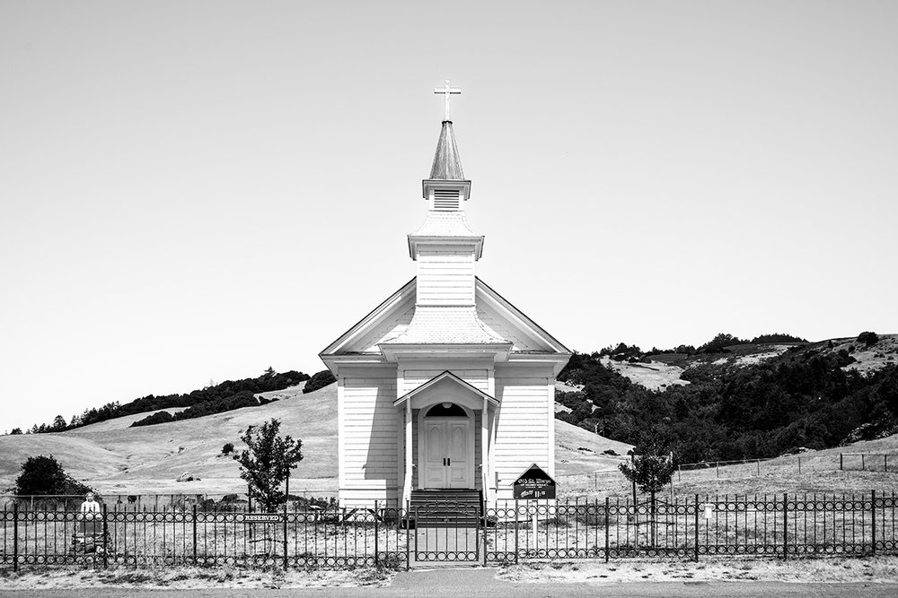 Old Saint Mary's Church of Nicasio Valley Ranch Rd, Nicasio, CA 94946, California, USA