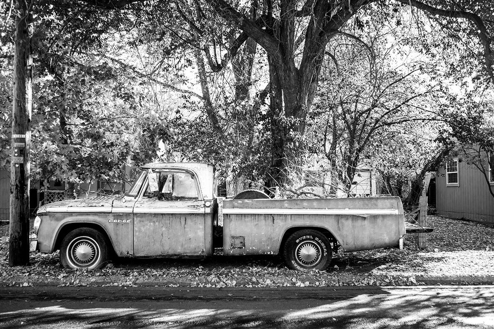 Dodge Pickup Truck, Lakeview, Oregon, OR, United States by Leica Photographer Manuel Guerzoni in San Francisco.