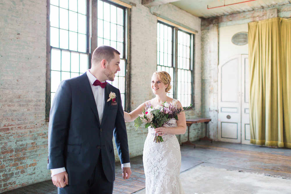 Ashley + Brian Metropolitan Building Wedding